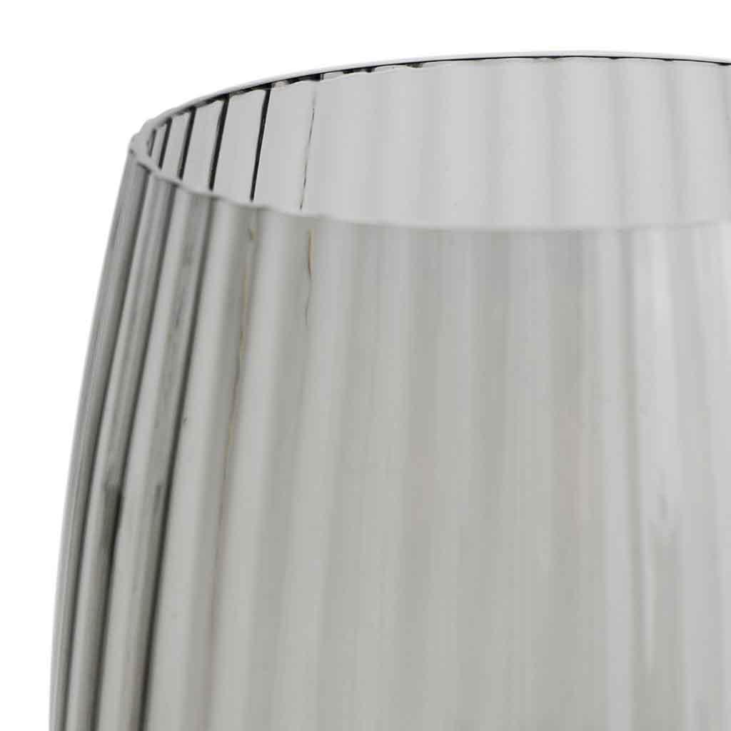Set 4 copas Nuit vidrio, color gris