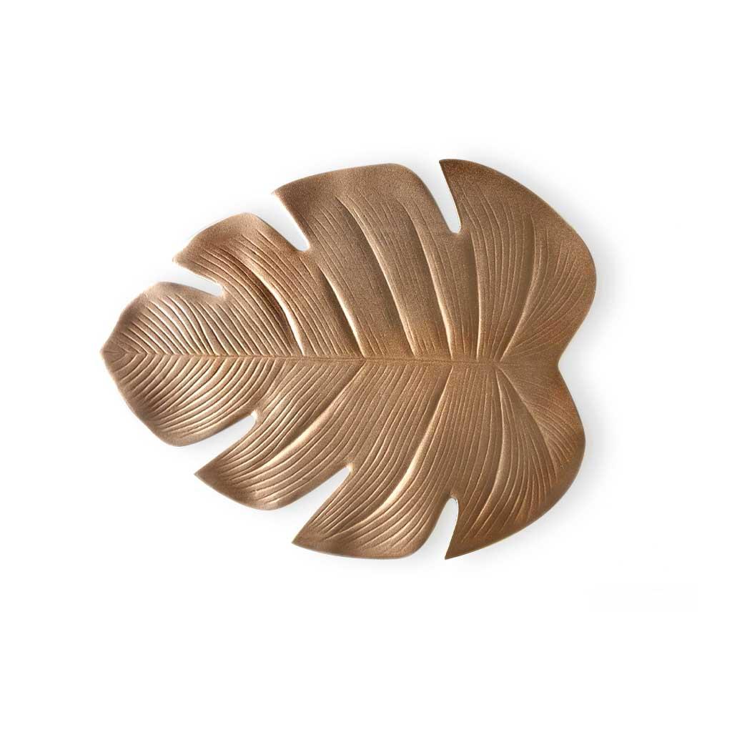 2 Placemats Set Tropic, PVC, copper color, hola2,5x37x44 cm