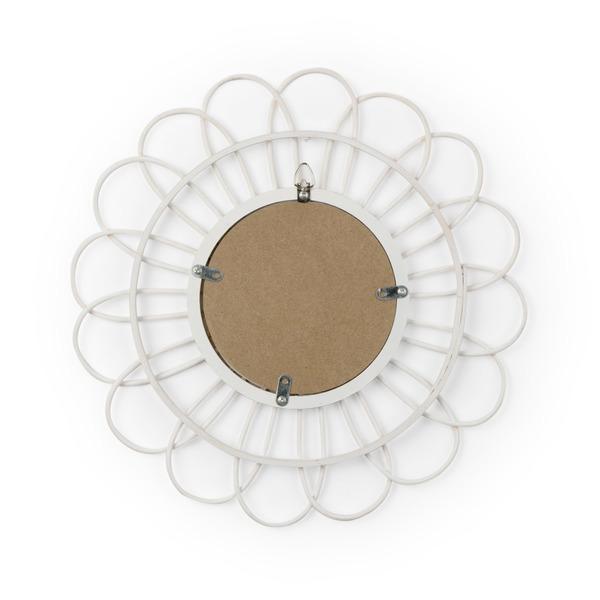 Espejo Kahala, ratán, color natural, Forma redonda