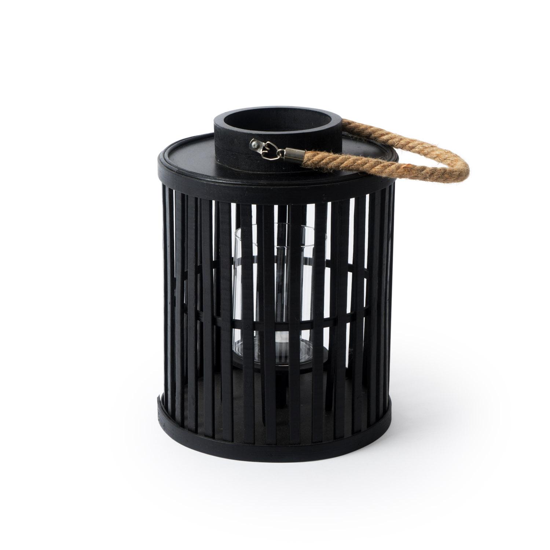 Farolillo Arlequín bambú, color negro