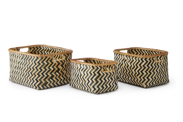Setá3ácestos Malé bambú, color natural y negro