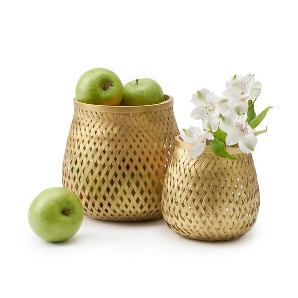 Setá2ácestos Singapur bambú, color dorado