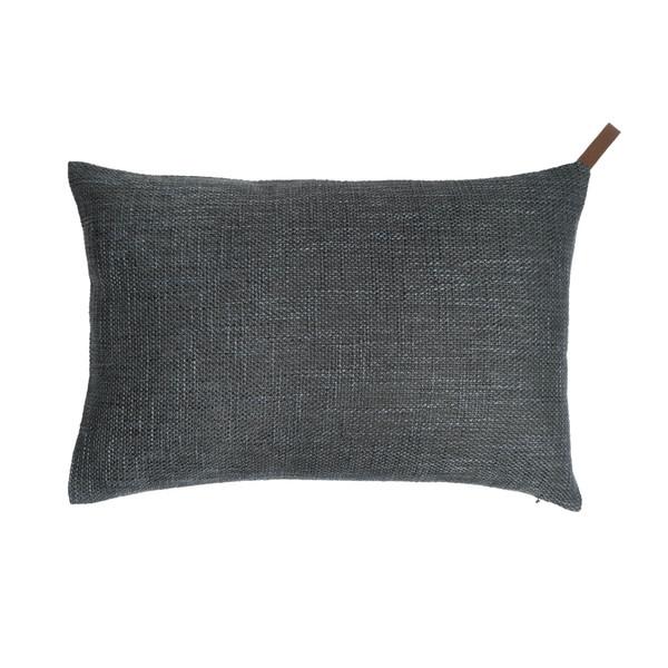 Funda cojín Elegance 25% algodón y 75% poliéster, color verde grisáceo