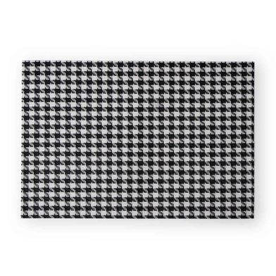 2 Placemats Set Patagallo, PVC, black and white color, hola30x45 cm