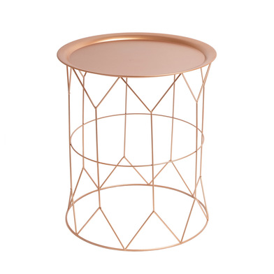 Side table, Mr Smith metal, color copper