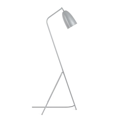 Floor lamp Mr Smith, metal, color Gray, 150x32x32 cm