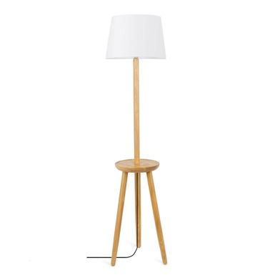 Floor lamp Table, wood, color , 160x40x40 cm