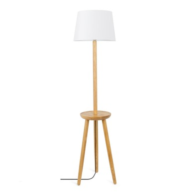 Floor lamp Table, wood, color , 160x40x40 cm