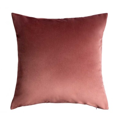 Cushion Cover Velvet, 100% polyester, color pink, nude, makeup,45x45x5 cm