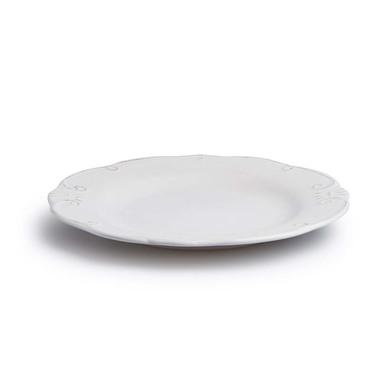 lack Velvet Studio Dinnerware set, 4 Large dish set Provenza White colour His engraved on white brin