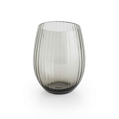 Set 4 glasses Nuit glass, color Gray