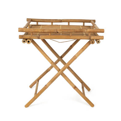 Table I Love Bambu, for the bathroom, rustic, bamboo, natural color, 68x60x40 cm